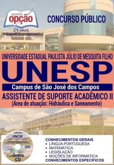 Apostila UNESP São José dos Campos (ICT) Assistente de Suporte