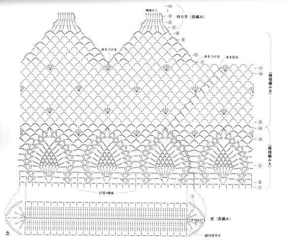 Crochet carteras patrones - Imagui