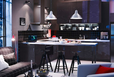 Luxury Kitchen Design 2011 with Lighting