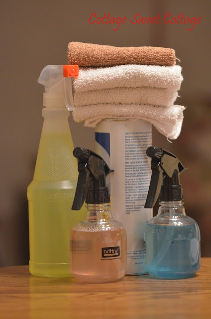 Cottage sweet cottage 5 cleaning supplies i keep in my for Bathroom cleaning supplies list