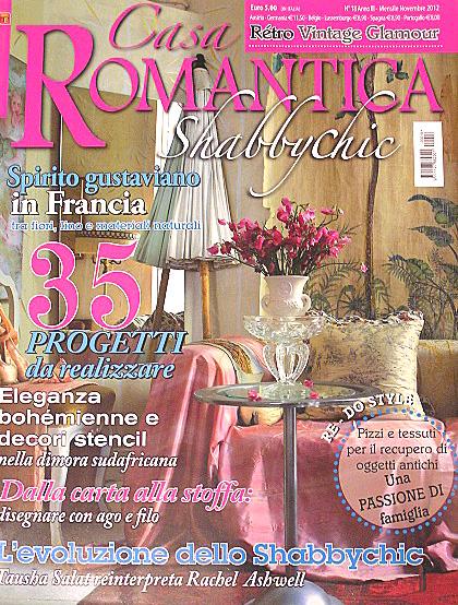 Cutepinkstuff and more casa romantica november 2012 for Casa magazine