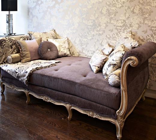 Apartment Decorating Style Home Decor Ideas Purple Fabric Decorating