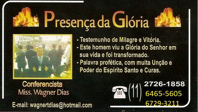 MINISTÉRIO PRESENÇA DA GLORIA