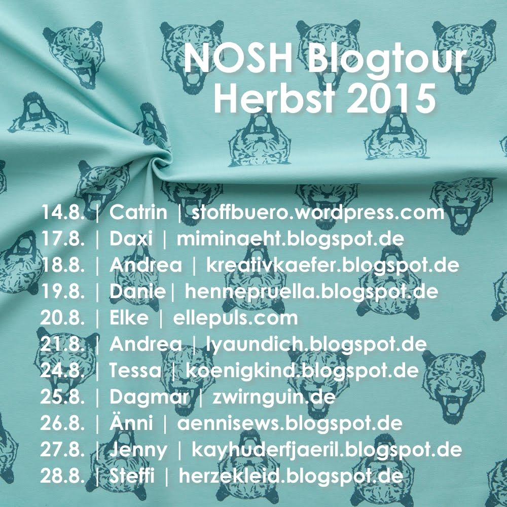Nosh-Blogtour beim Stoffbüro