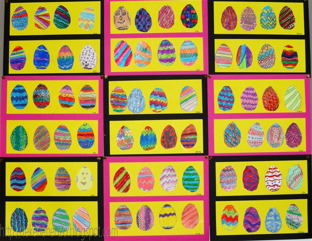 Line Art Grade 1 : Tekenen en zo april