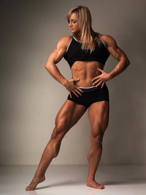 Katka Kyptova - Female Bodybuilder
