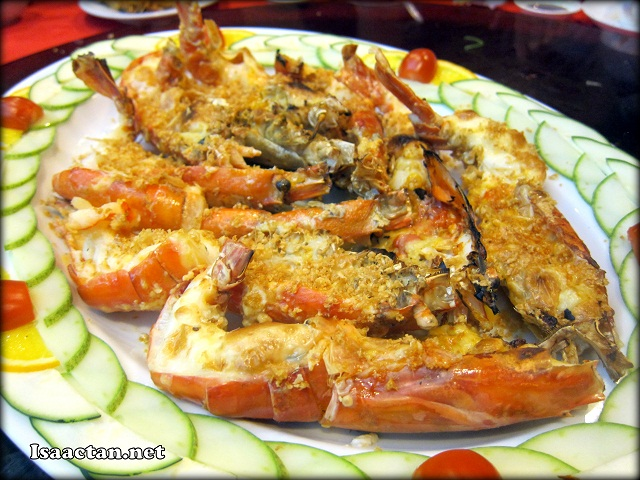 #4 Baked King Prawn with Garlic and Cheese