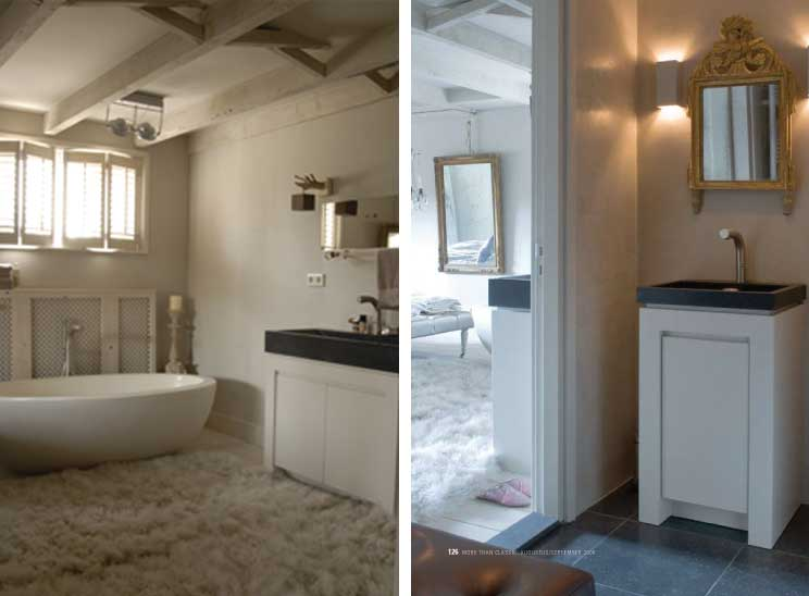 Carte colori je badkamer in stijl - Badkamer romeinse stijl ...