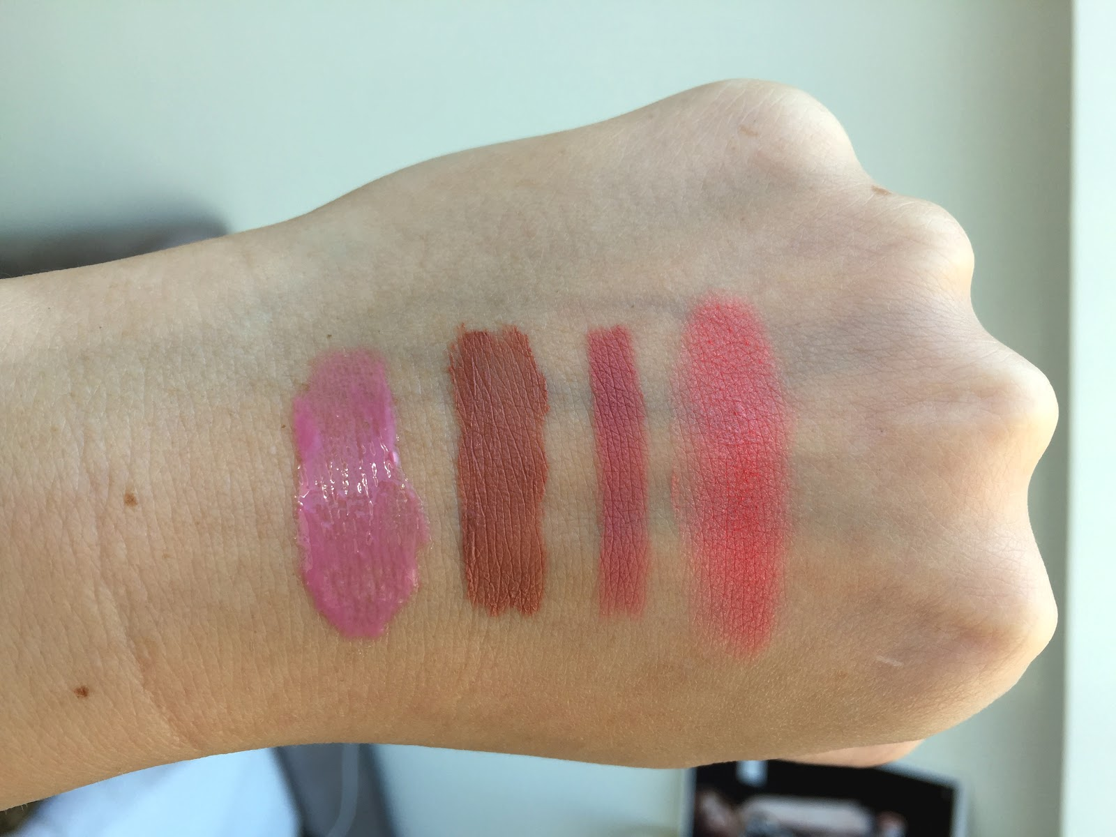 NYX Swatches and Review