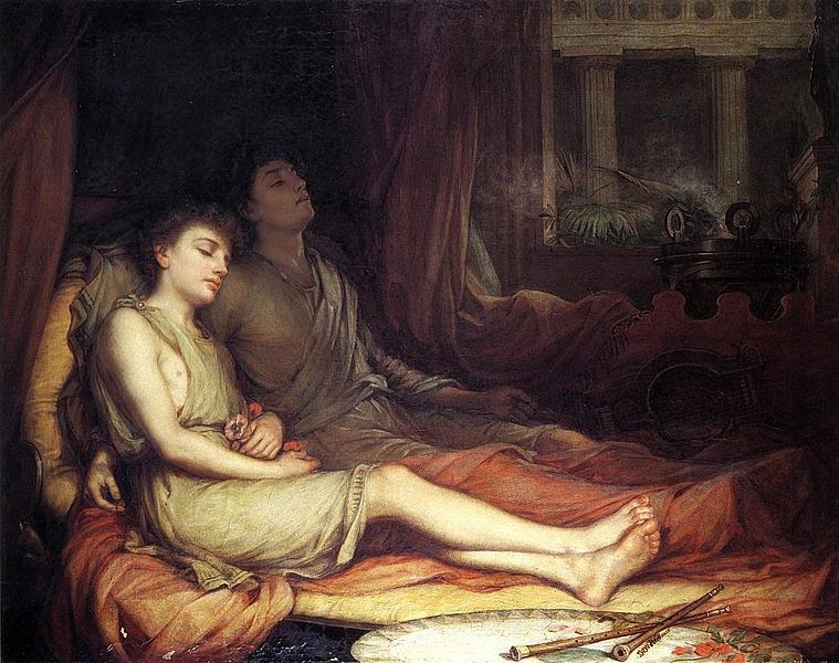 Sleep and His Half Brother Death John William Waterhouse, 1874 Private collection. Image courtesy Wikimedia Commons