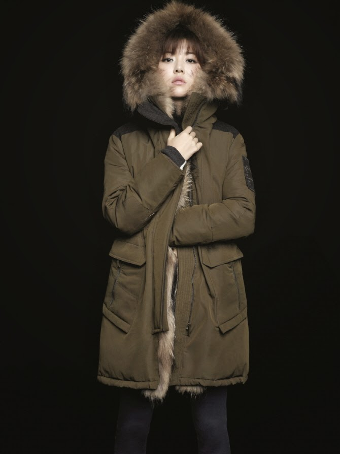 Park Han Byul - Bluepepe Fall Winter 2014