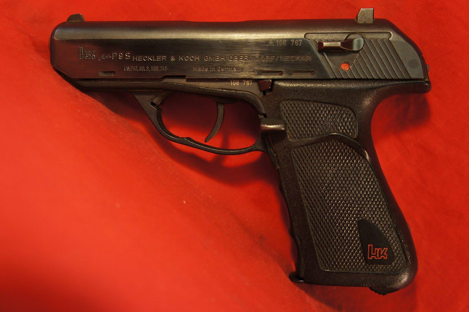 ... Heckler & Koch P9S 9mm Para Πιστόλι (50 Photos, WallPaper