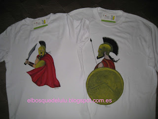 camisetas-pintadas-mano-espartanos