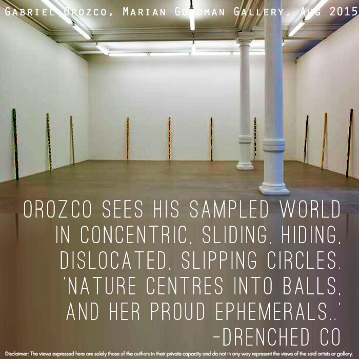 Image of Marian Goodman Gallery with Exhibition Review by Drenched Co