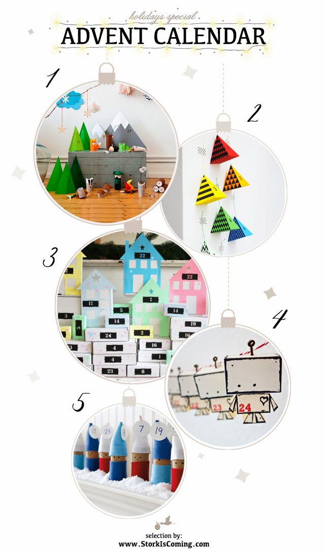 Most creative advent calendars for kids