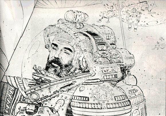 alien concept art by jean henri gaston quotmoebiusquot giraud