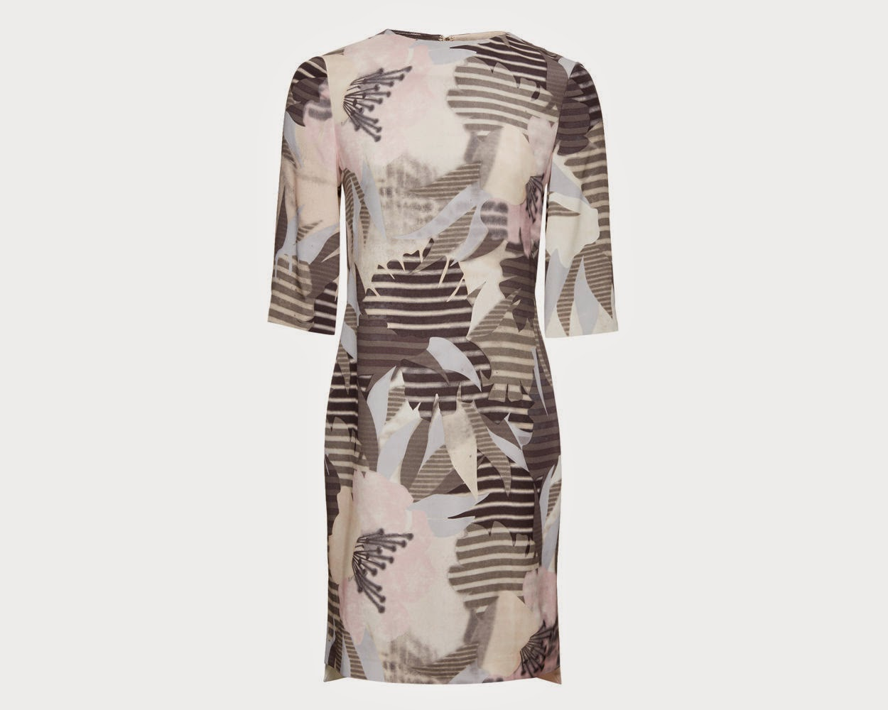 whistles maya dress, whistles leaf dress,