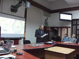 Aspect din timpul comunicării Prof. univ. dr. Ştefan S. Gorovei, 24.II.2011...