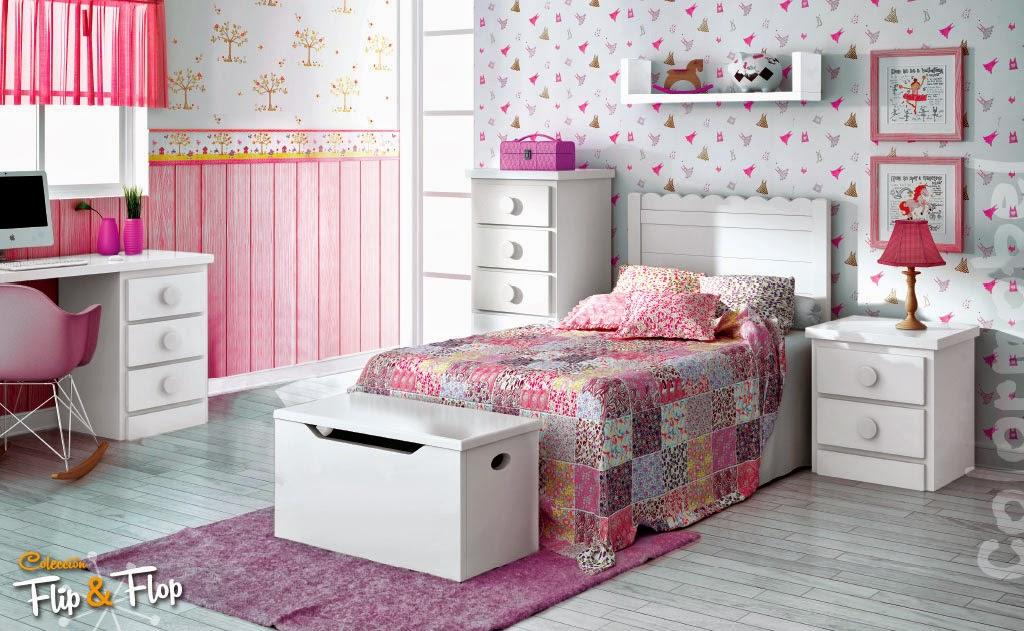 Dormitorios infantiles para ni as ni os de 0 1 2 3 4 y 5 a os for Imagenes de camas infantiles