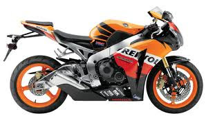 New hero Honda bike