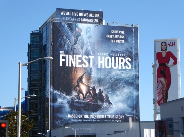 The Finest Hours movie billboard