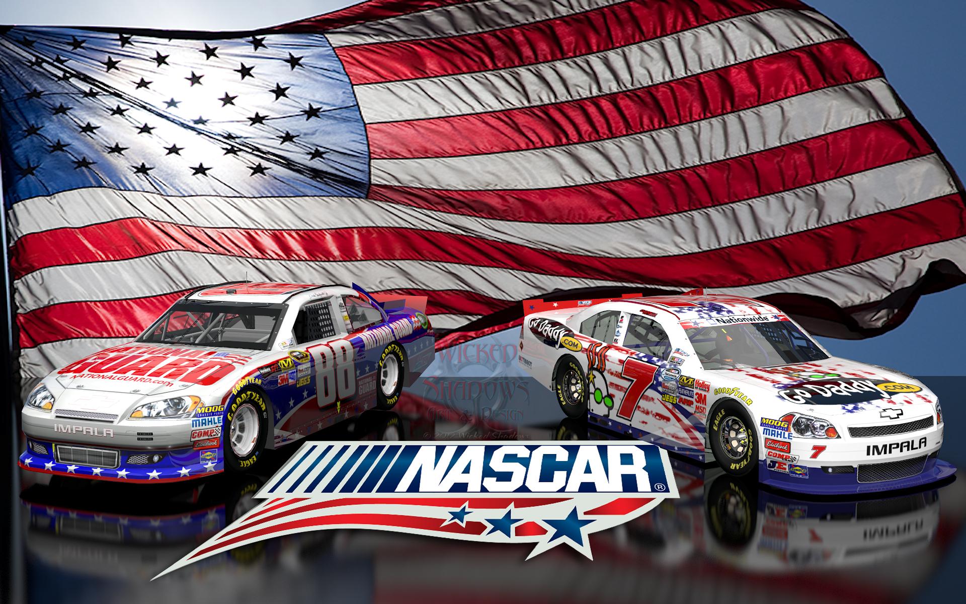 Danica Patrick Dale Earnhardt Jr NASCAR Unites wallpaper 16x10