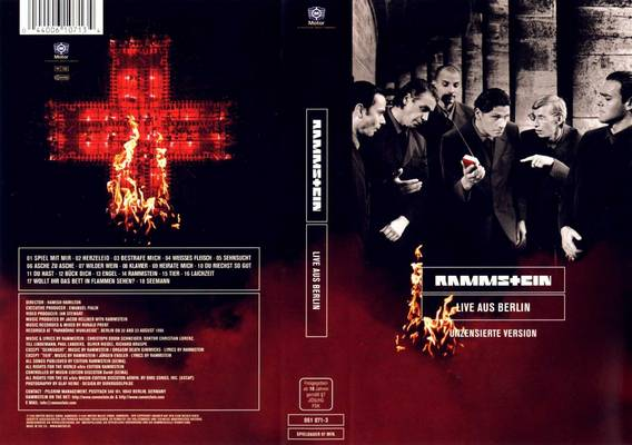 rammstein live aus berlin 2002 dvd. Black Bedroom Furniture Sets. Home Design Ideas