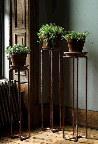 Dishfunctional Designs Pipe Down Unique Copper Pipe Home