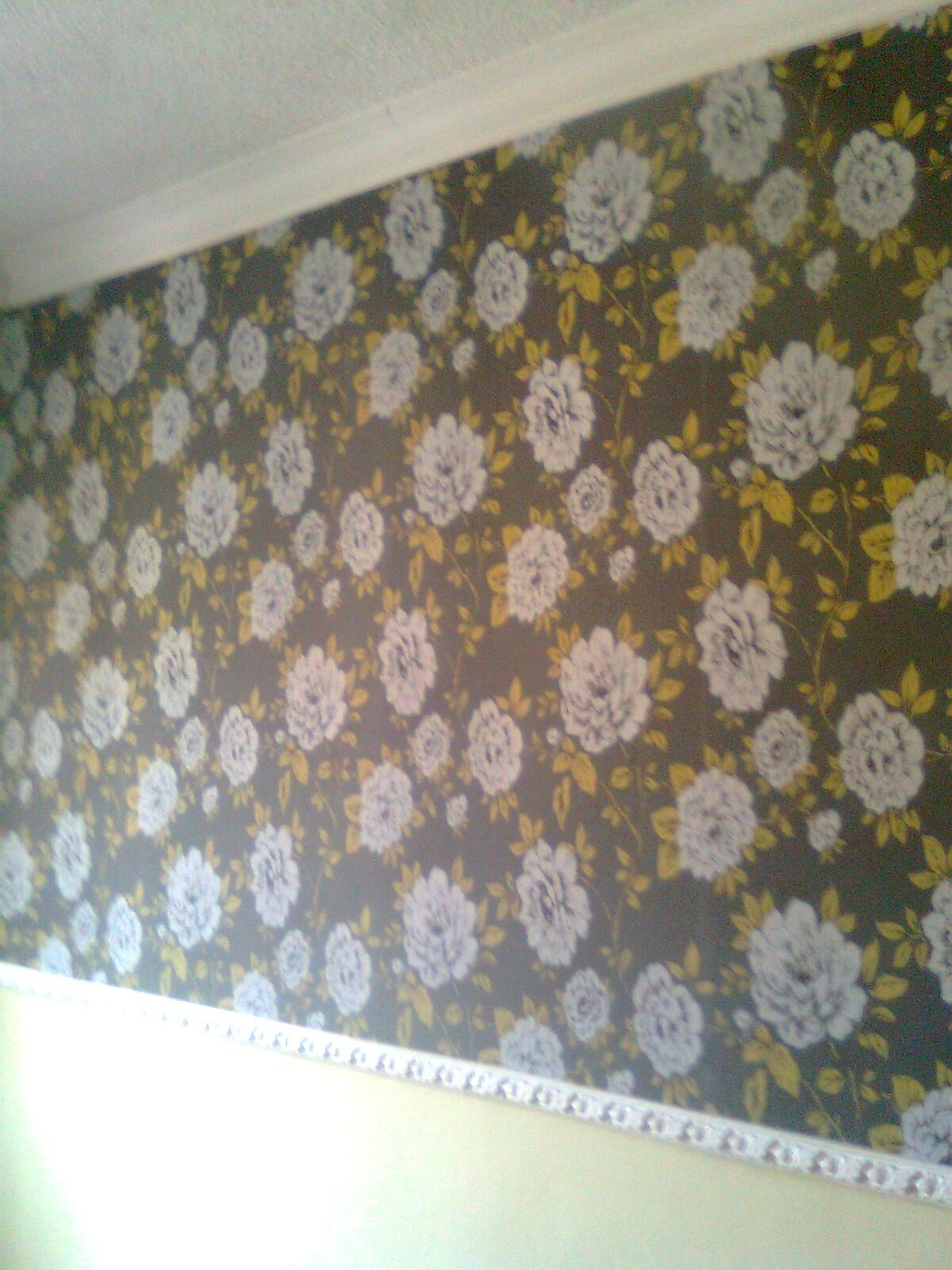 Pintura y decoraci n madrid papel pintado en dormitorio for Papel pintado madrid