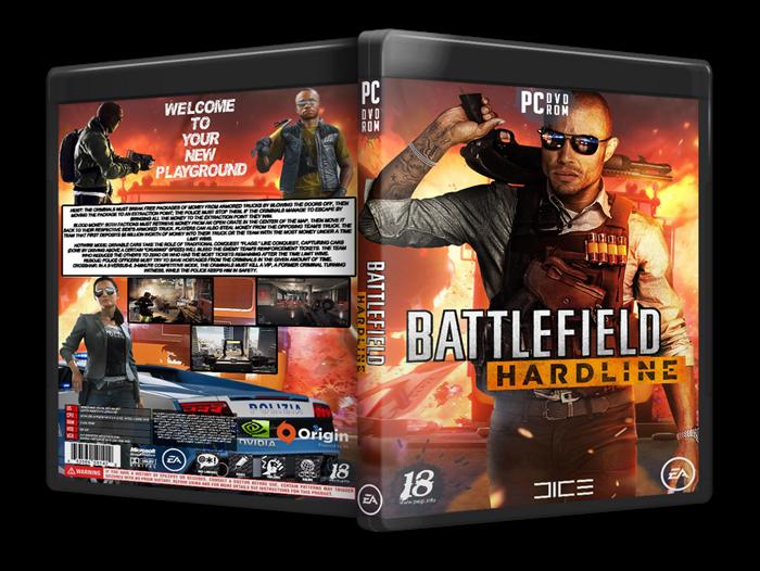 Capa Battlefield Hardline PC