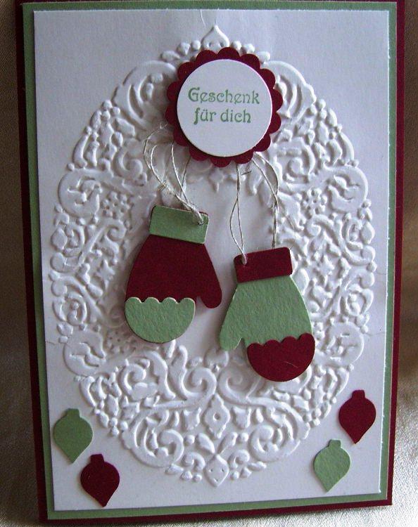 zinzia 39 s blog erste weihnachtskarten mit neuen stampin up materialien. Black Bedroom Furniture Sets. Home Design Ideas