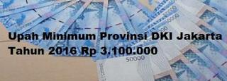 Upah Minimum Provinsi (UMP) DKI Jakarta 2016