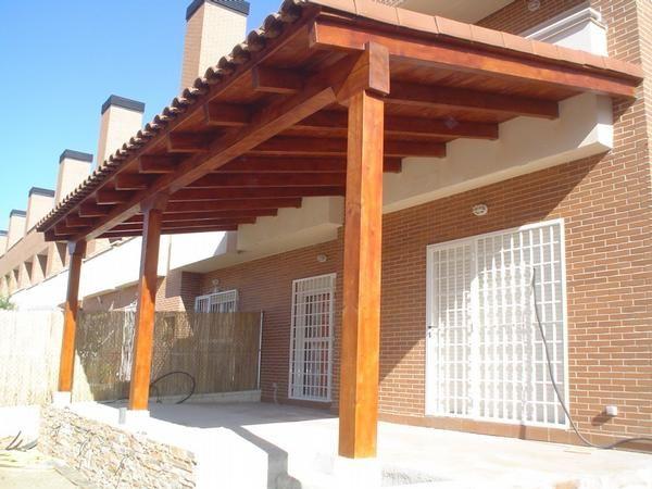 Julca pinturas tejados de arcilla for Tejados de madera y teja