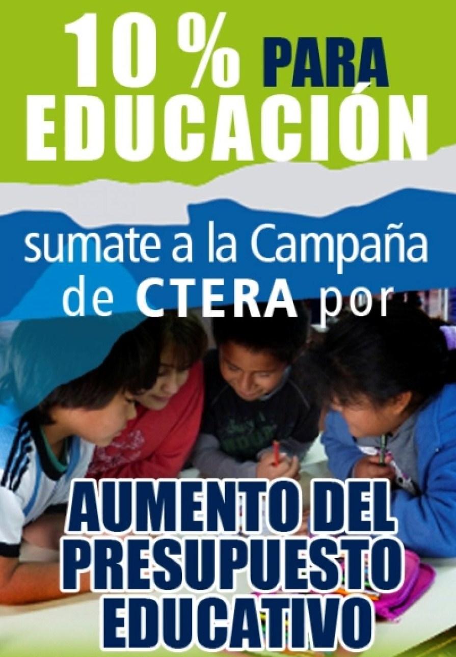 CAMPAÑA POR UNA NUEVA LEY DE FINANCIAMIENTO EDUCATIVO