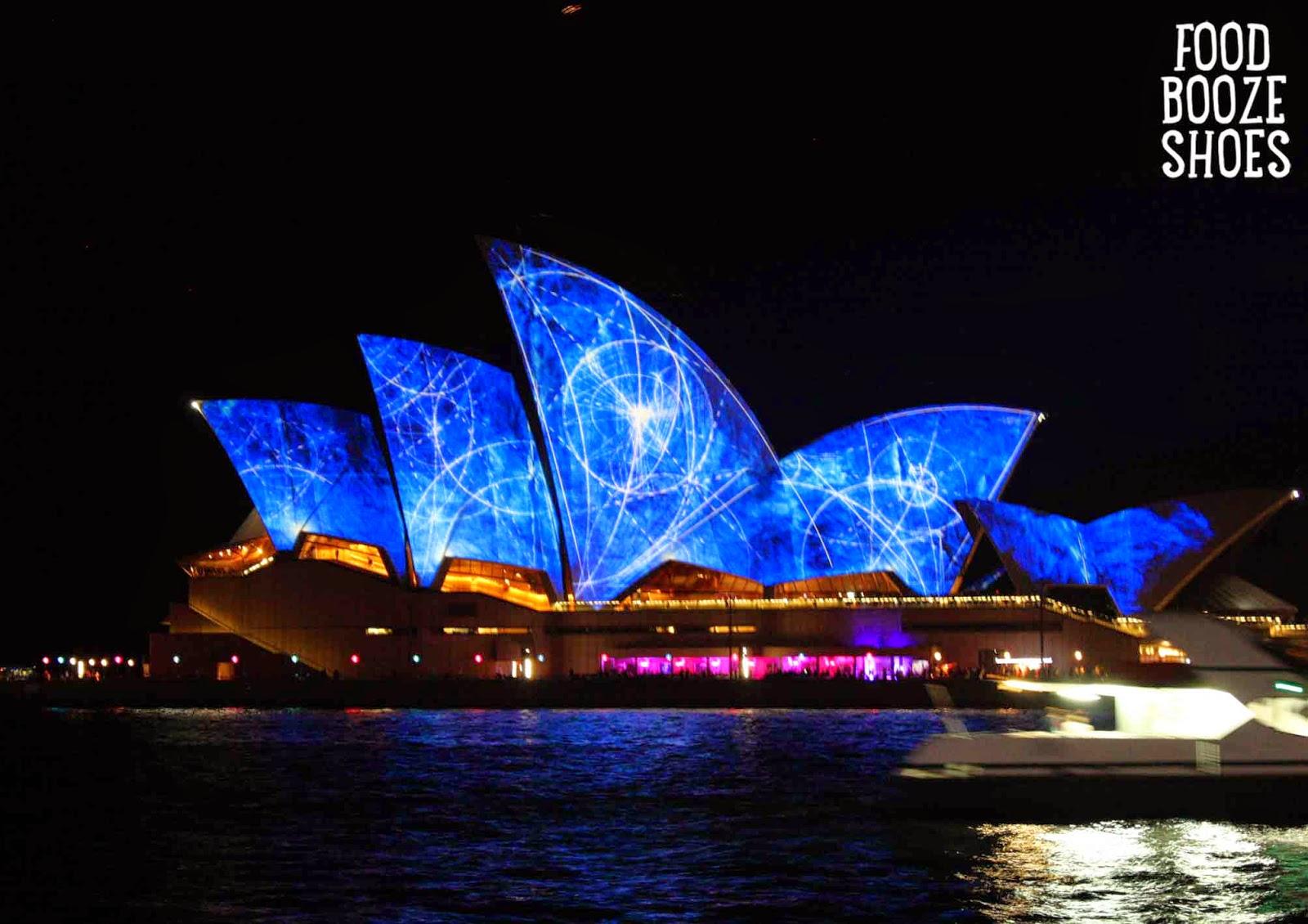 vivid sydney lights up sydney - until 9 june