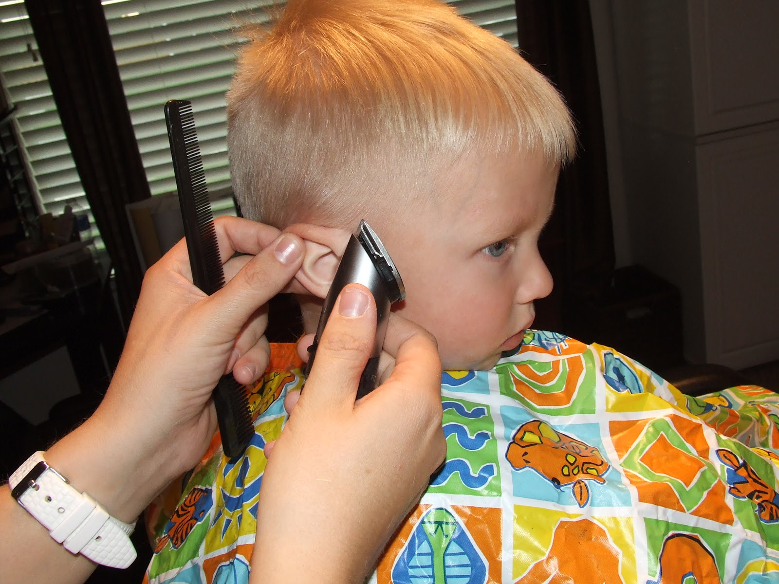 Simply Everthing I Love How To Cut Boys Hair The Professional Way