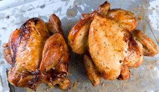 Pollos asados