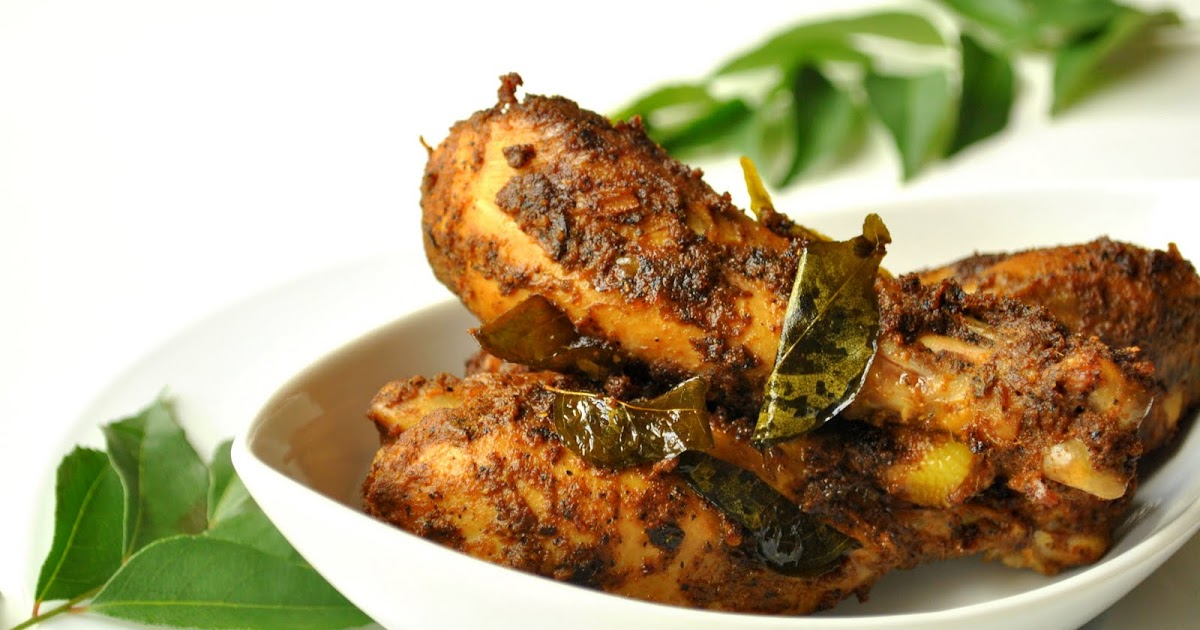 jishas kitchen nadan chicken fry indian recipes