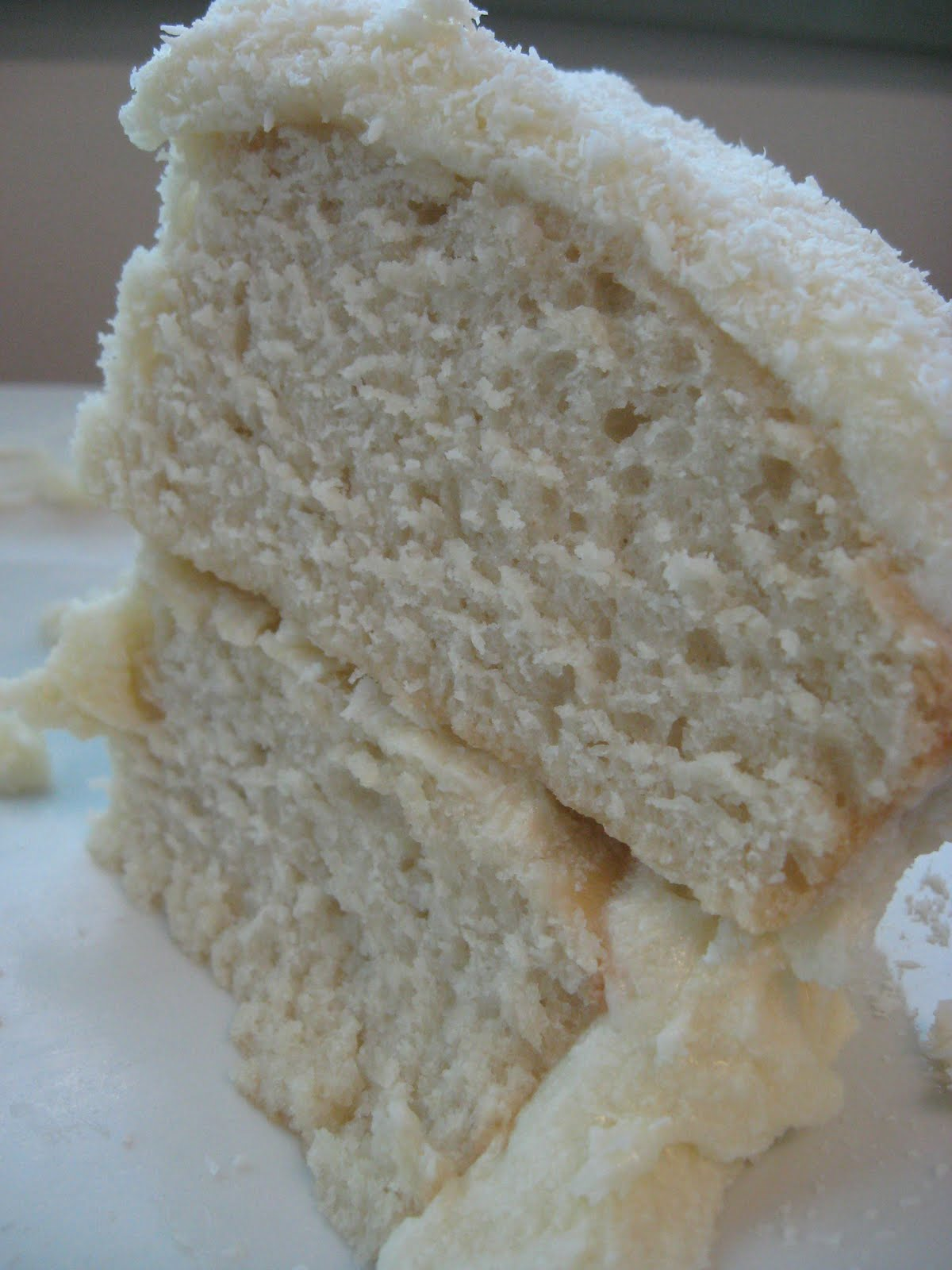 Morsels and Musings: ono coconut cake w coconut frosting