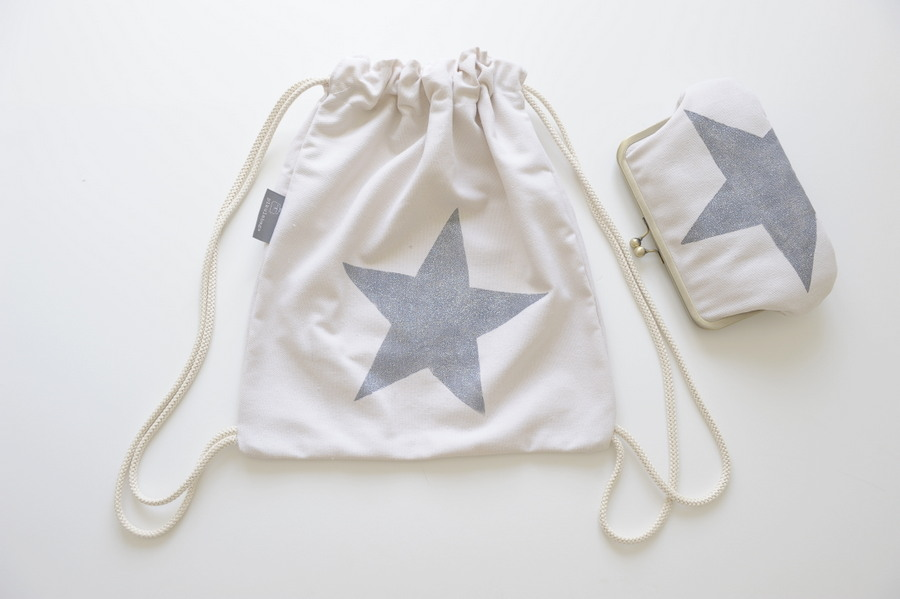 drawstring backpack star