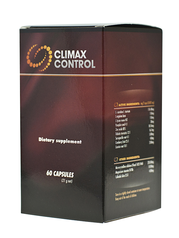 Climax Control - Mittel gegen vorzeitigen Samenerguss