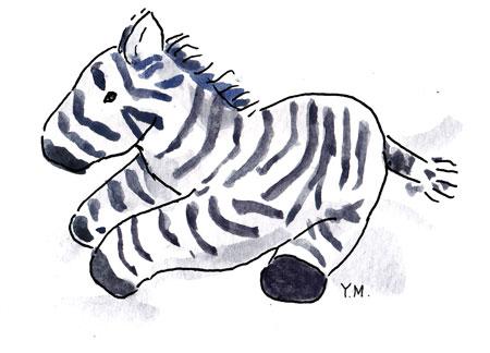 Zebra by Yukié Matsushita