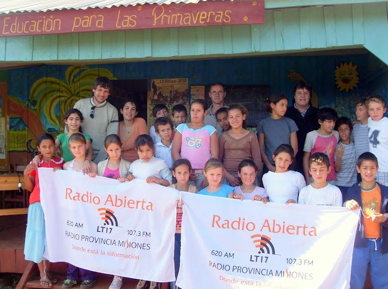 Visita LT 17 Radio Provincia de Misiones