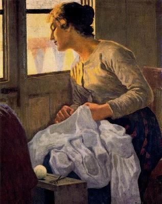 L'esposa (Joan Llimona i Bruguera)