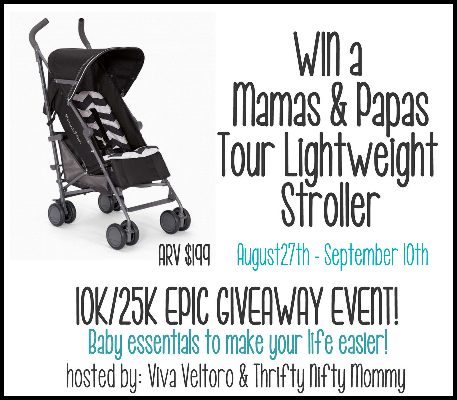 Win A Mamas Amp Papas Stroller Giveaway My Best Of Both