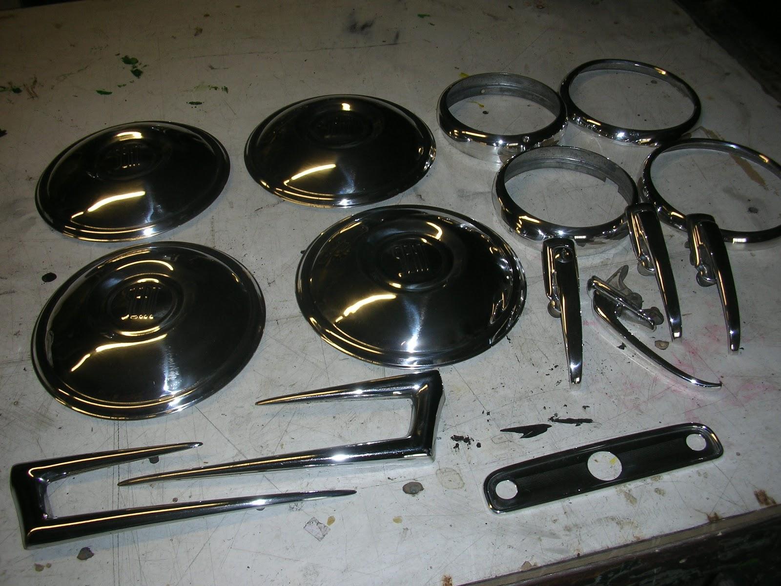 Restauraci n de metales lat n cobre aluminio inox etc pulidos y cromados - Pulir aluminio a espejo ...