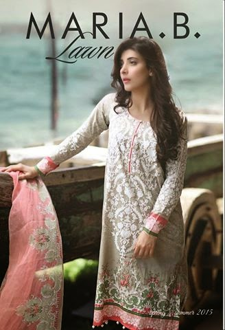 Maria b new lawn collection 2015