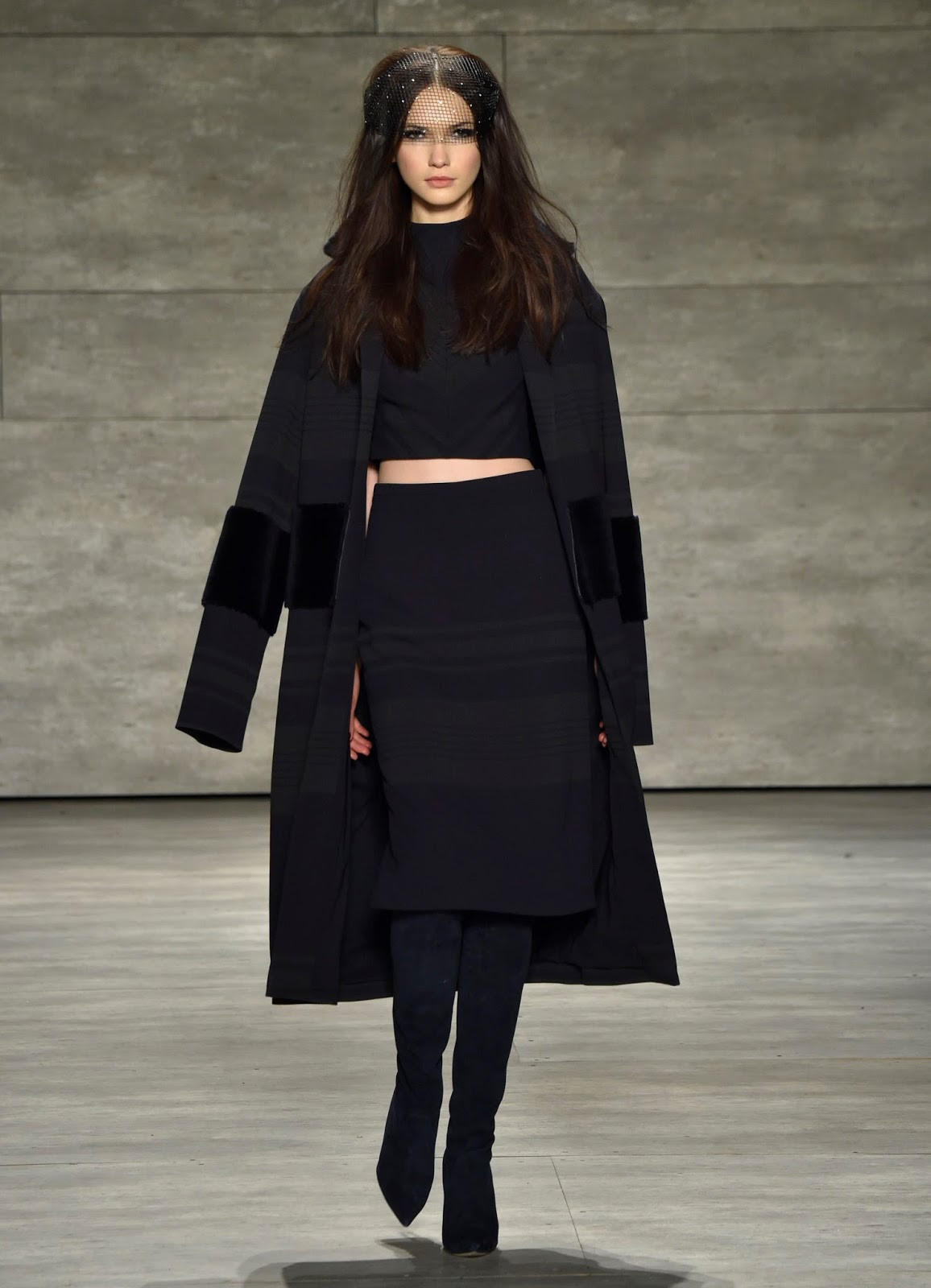 NYFW: FALL 2015 PAMELLA ROLAND'S PARIS IN THE 70S INSPIRATION