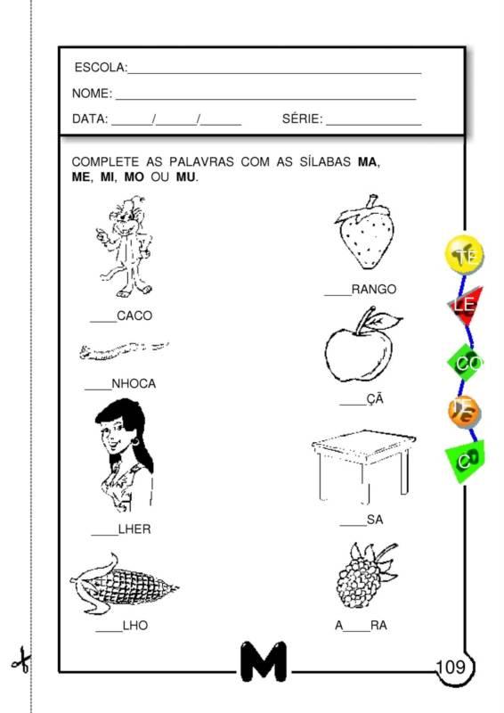 Suficiente ALFABETIZAÇÃO CEFAPRO - PONTES E LACERDA/MT : Sugestão de  VL11