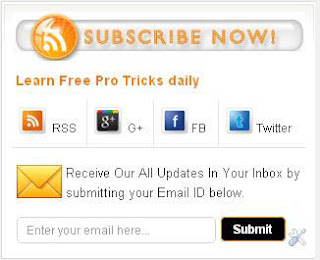 perfect social subscription widget